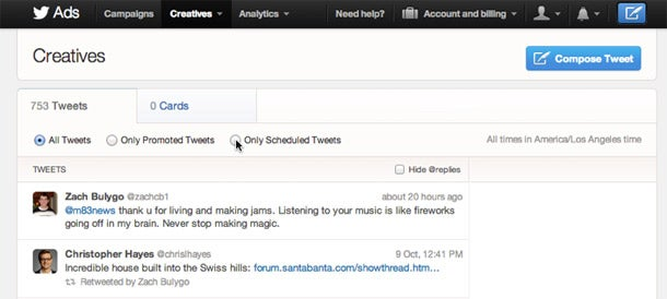 What Twitter's New Scheduled Tweets Mean for Marketing Your Business