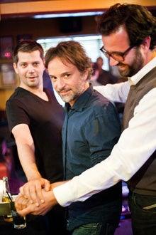 Zendesk Co-founders Mikkel Svane, Alexander Aghassipour, and Morten Primdahl.