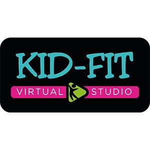 Kid-Fit Virtual Preschool Fitness Studio Logo