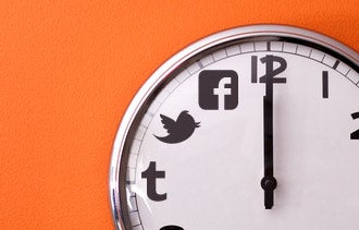 Finding the Best Time to Post to Social Networks