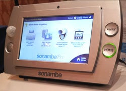 A Sonamba wellbeing monitor/medical alert system