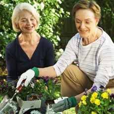 Yard work at home possible with FirstLight HomeCare