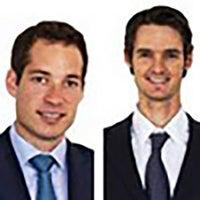 Nicolas Desmarais and Daniel Saks