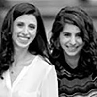 Basha Frost Rubin and Mirra Levitt