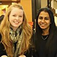 Sophie Kleeman and Sherina Motwani
