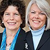 Terri Egan and Suzanne Lahl