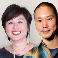Tony Hsieh and Jenn Lim