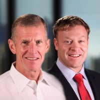 Gen. Stanley McChrystal and David Silverman