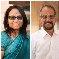 Professor Kavil Ramachandran and Dr Nupur Pavan Bang
