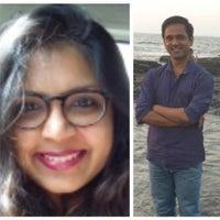 Sunil Pol & Aashika Jain