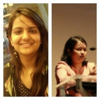Komal Nathani and Sneha Banerjee