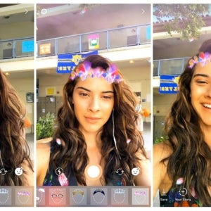 Instagram, Admitting a War on Snapchat, Rolls Out Face Filters