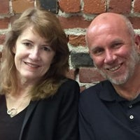 Carol Broadbent and Tom Hogan