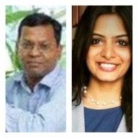 Muthu Singaram and Prathistha Jain