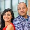 Amit Kothari and Pravina Pindoria