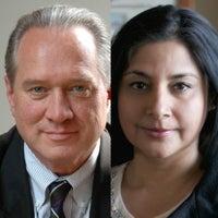 Jim Clifton and Sangeeta Badal