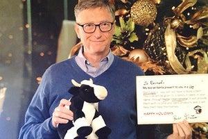 Holy Cow: Bill Gates Plays Secret Santa in Reddit Christmas Miracle