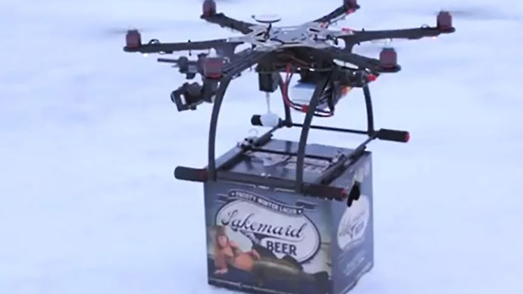 Government Shuts Down Small Brewery's Beer Drones