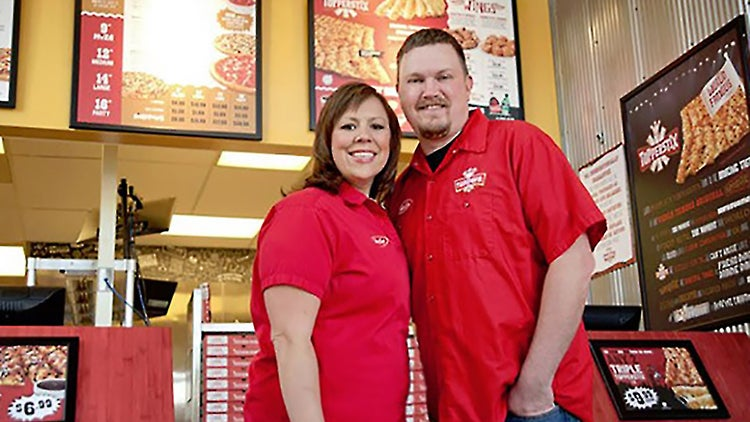 Franchise Players: How This Pizza Chain Power Couple Balances Business and Romance