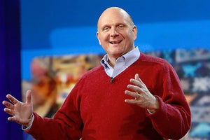 Ballmer Reminisces, Advises in First Appearance Since Exiting Microsoft