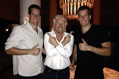 The Winklevoss Twins Score Virgin Galactic Tickets to Space, Paying Wi...