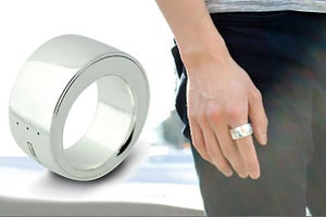With Bluetooth Ring, Control Your World With a Finger Twirl