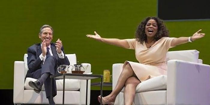 Mega Brands Collide: Soon, You Can Order 'Oprah Chai Tea' at Starbucks