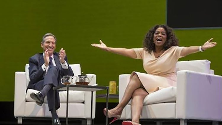 Mega Brands Collide: Soon, You Can Order 'Oprah Chai Tea' at Starbucks