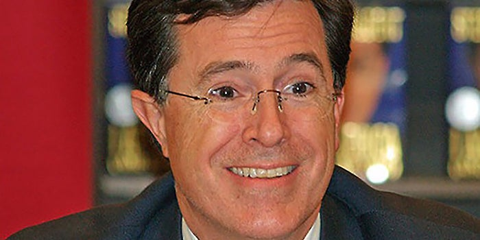 5 Reasons Stephen Colbert Is a Smart Pick for 'The Late Show'