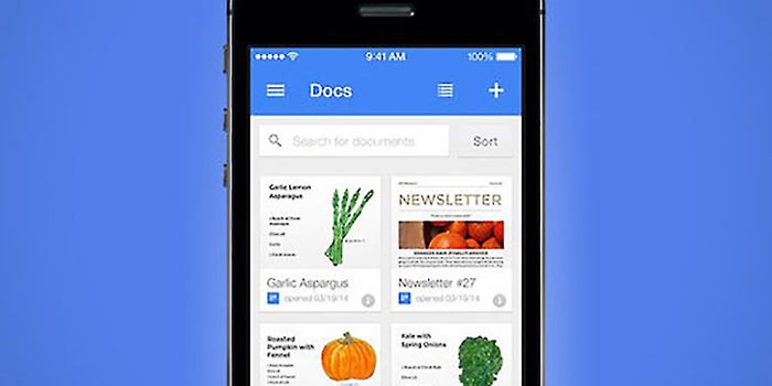 Google Docs and Google Sheets Are Now Standalone Apps for iOS and Android