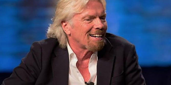 Richard Branson on Dealing With Setbacks