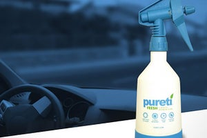 This High-Tech Spray Eats Smog, Turns Surfaces Into Self-Cleaning Germ-Killers