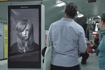 How These Brilliant Digital Billboards Are Delivering a Hair-Raising M...