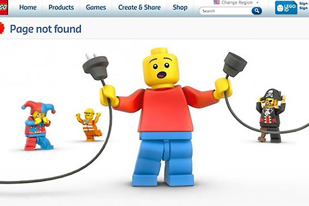 15 of the Most Creative 404 Pages