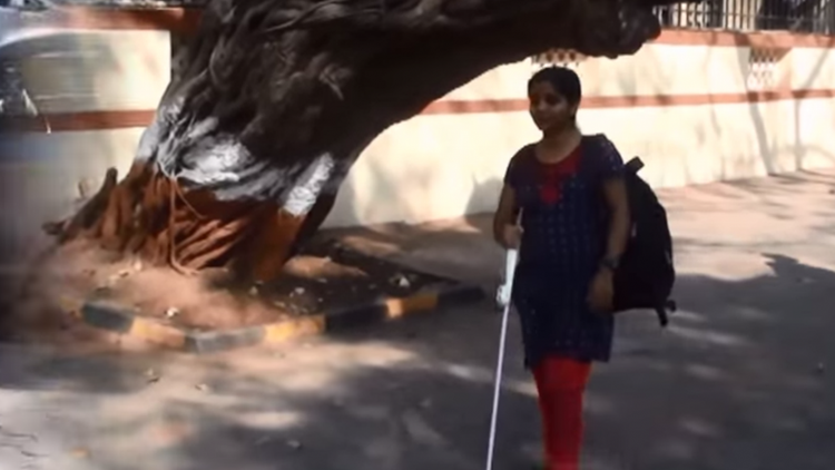 Bat-Like Technology Is Giving the 'White Cane' a Much-Deserved Upgrade
