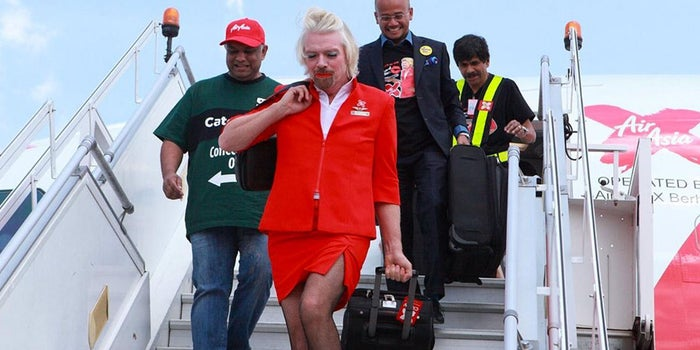 Richard Branson Says Costumes Can Be a Boon for Business