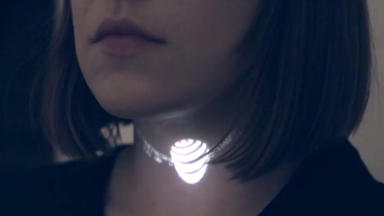 Gold? Silver? Pffft. This Necklace Is Pure Illumination.
