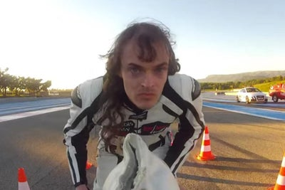 VIDEO: Watch This Fearless Frenchman Laugh in the Face of Death on a R...