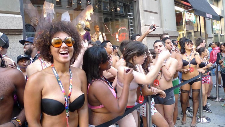 Want a Black Friday Deal? Show Up Naked.
