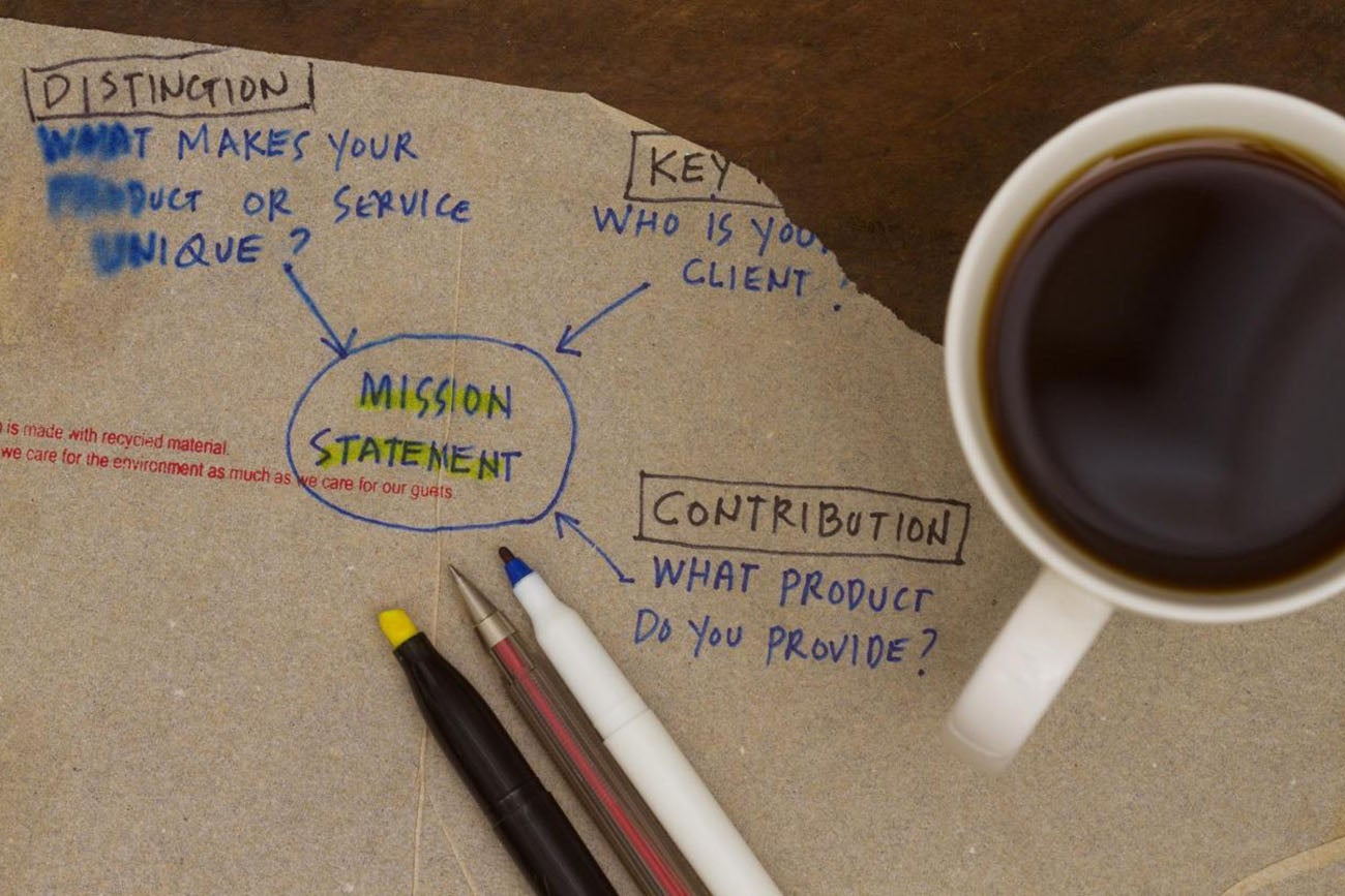 crafting a mission statement that you ll remember
