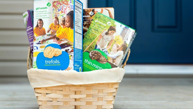 Girl Scout Cookie Sales Are Now Clickable