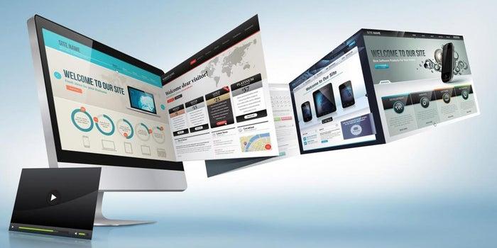 How Do Shark Tank Entrepreneurs Build Their Websites? (Infographic)
