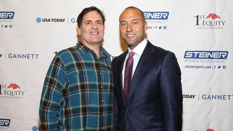 Mark Cuban, Derek Jeter Talk Business, Motivation and Crushing the Competition