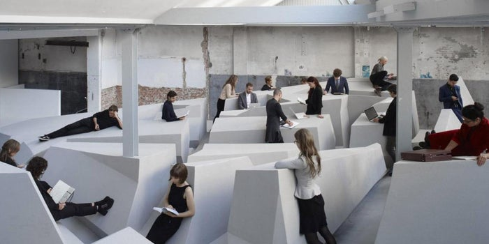 In This Vision of a Healthier Workplace, Sitting Is Not Allowed