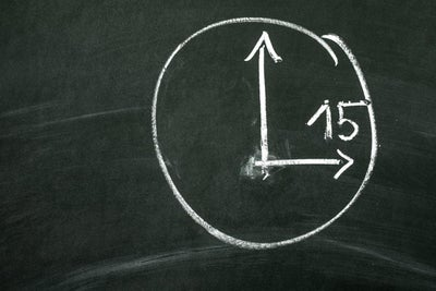 4 Steps to the Most Productive 15 Minutes of Your Day