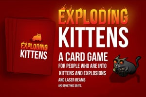 This 'Exploding Kittens' Card Game Is Blowing Up on Kickstarter