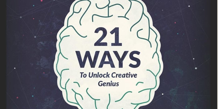 21 Ways to Get Inspired (Infographic)