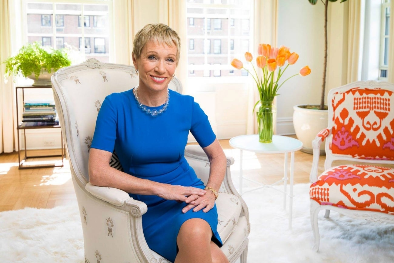 Investor and entrepreneur Barbara Corcoran has invested $50,000 in Fidgetland