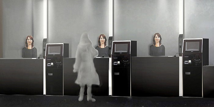 In Japan, a 'Strange Hotel' Will Be Staffed Almost Entirely By Robots