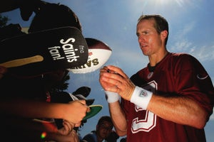 Drew Brees: Saint for Small Business